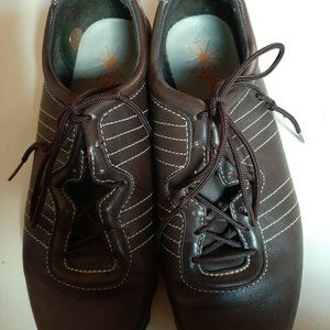 Timberland Brown Casual Leather Shoes Sz 9.